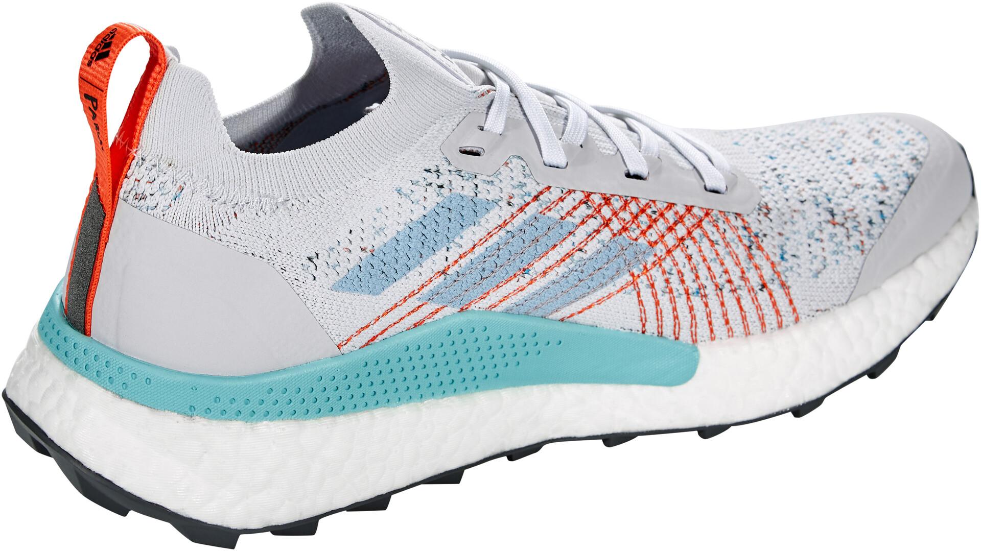 adidas TERREX Two Ultra Parley Scarpe da trail running Uomo, dash grey/footwear white/true orange su Addnature 1rw5m